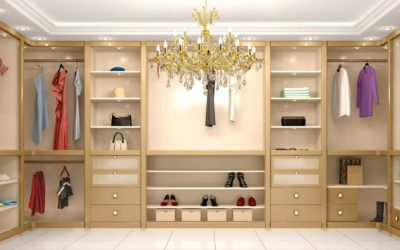 HOW TO CREATE AN IDEAL DRESSING ROOM IN 7 STEPS.